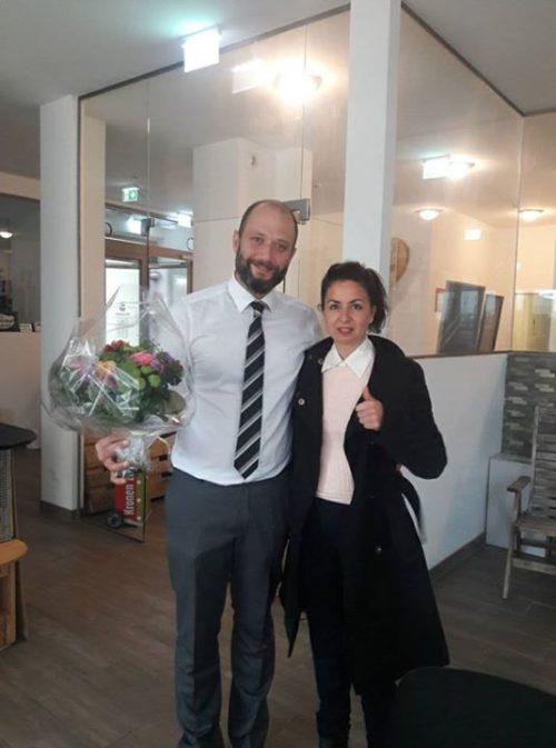 Meine erste Kundin! mit Vera Schindegger